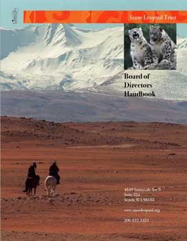 Snow Leopard Trust Board Handbook